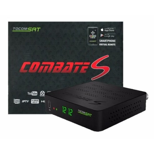 Tocomsat Combate S LE - HD IPTV On Demand H265 Wifi