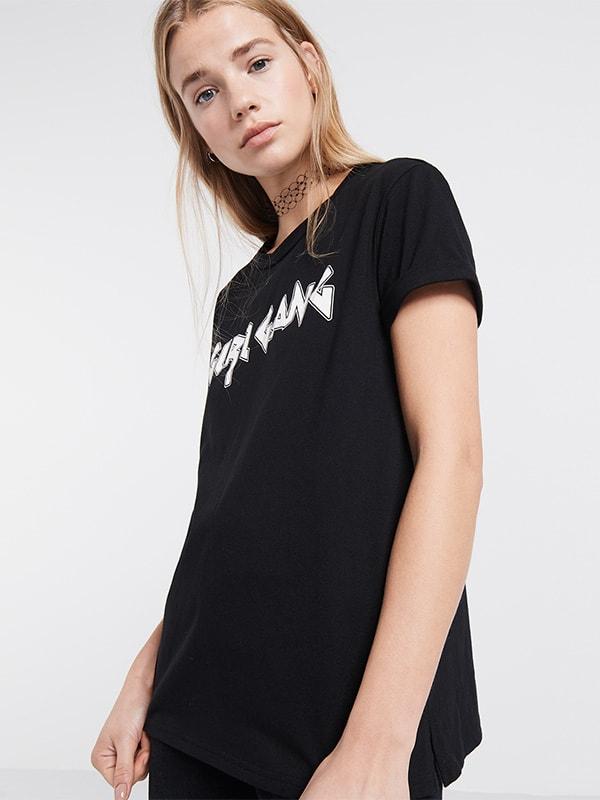 Black Girl Gang Slogan T-Shirt