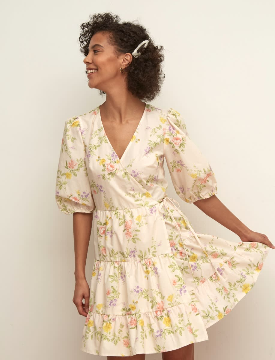 Sophie Mini Wrap Dress