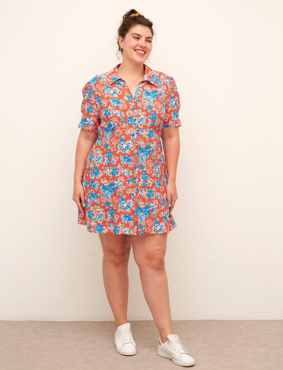 Curve Ellen Mini Dress