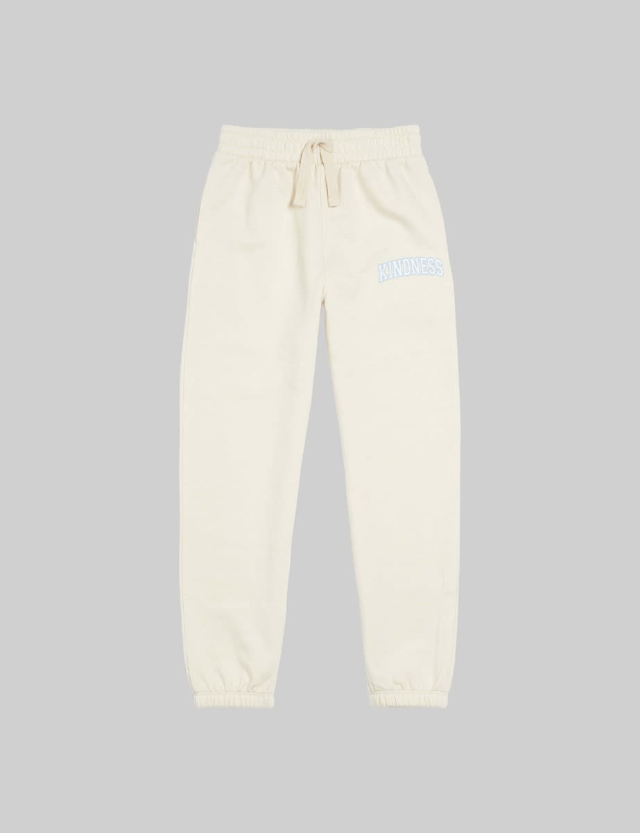 Somebody's Child Cream Kindness Embroidered 90s Jogger
