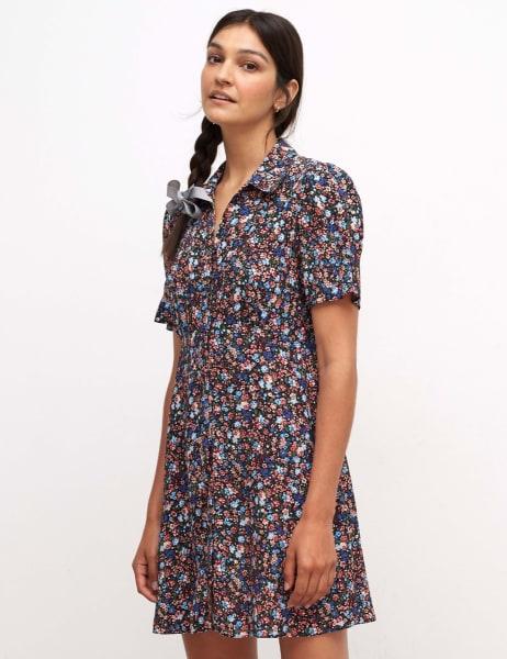 Ellen Shirt Mini Dress