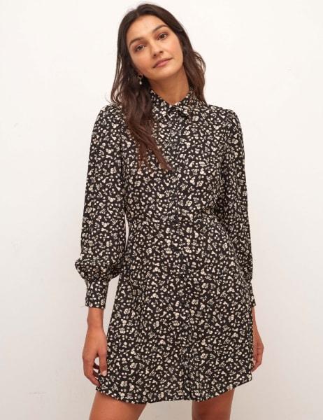 Tessie Shirt Mini Dress