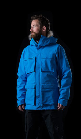 Norrøna weather protective gore-tex jacket