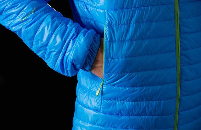 Norrøna falketind primaloft100 jakke med hette til herre