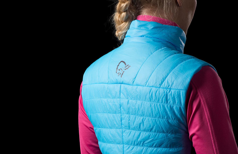 Norrona falketind primaloft100 vest for women