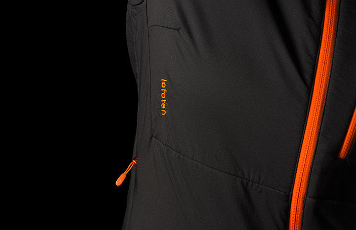 Lofoten insulated Alpha jacket by Norrøna