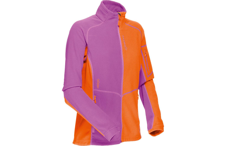 Blue Norrona Lofoten fleece jacket - warm1 mid layer