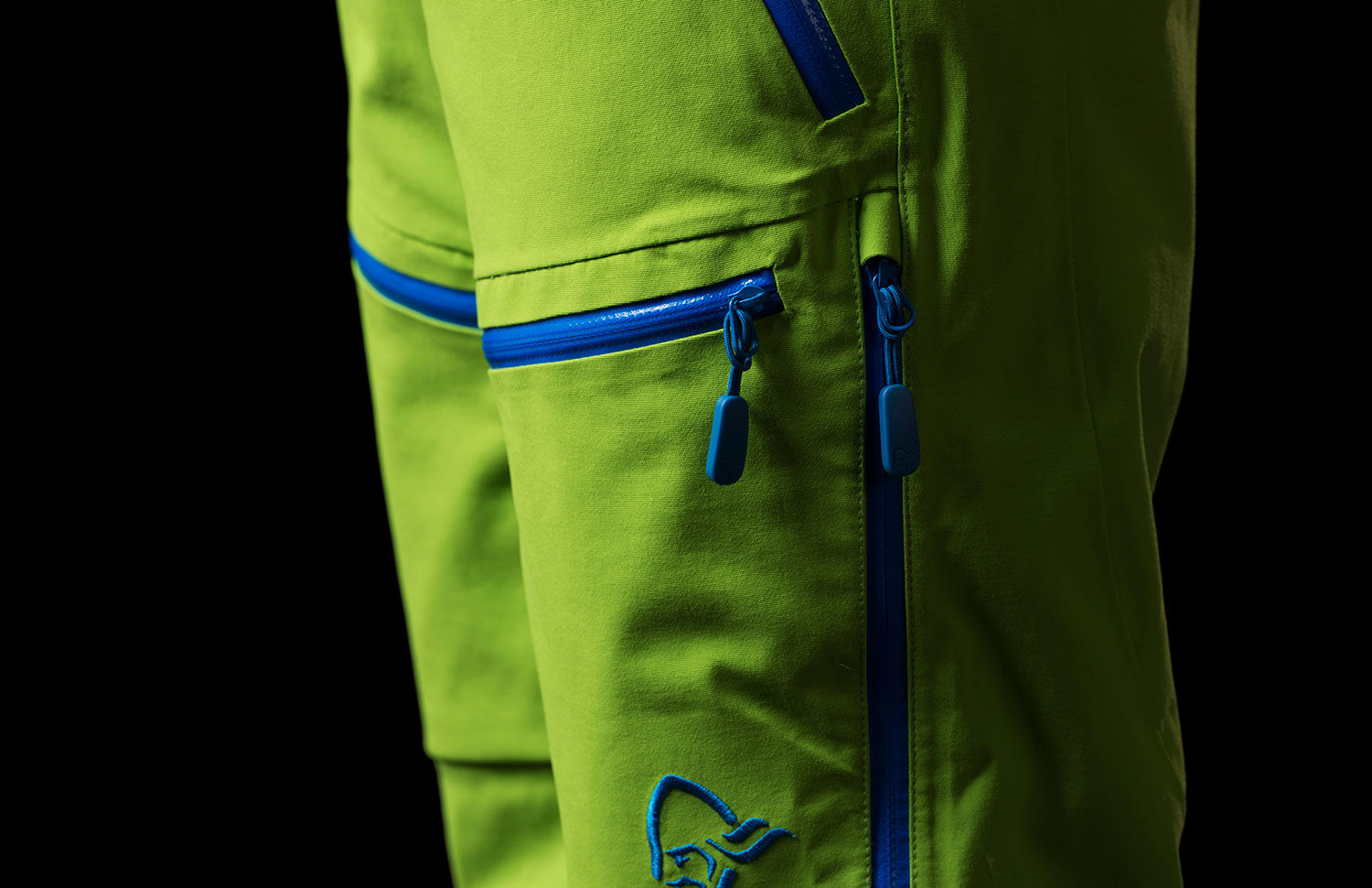 Waterproof ski pants - Norrona lofoten kids