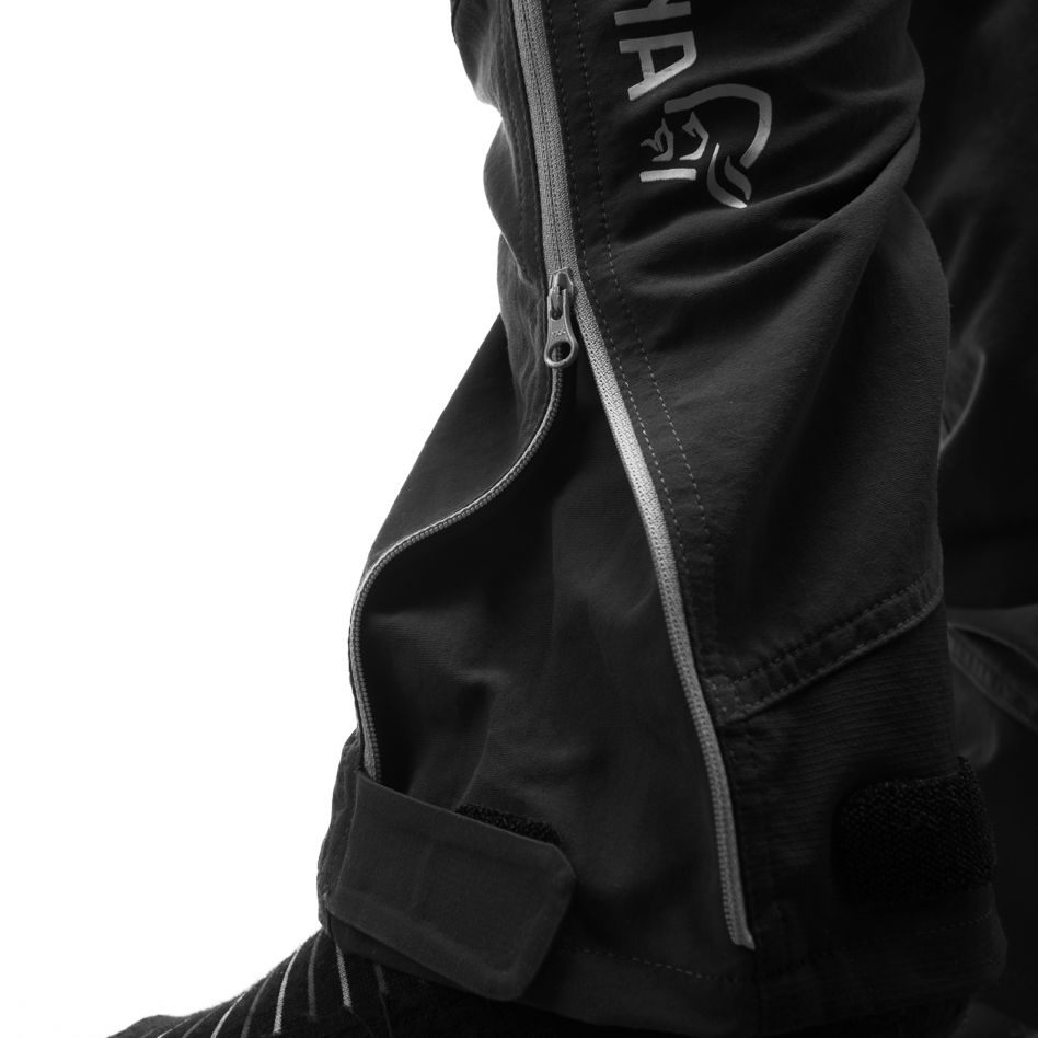 Technical details Zipper opening leg/ankle