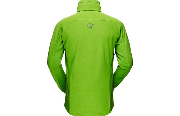 Norrona fleece jacket for men with polartec stretch