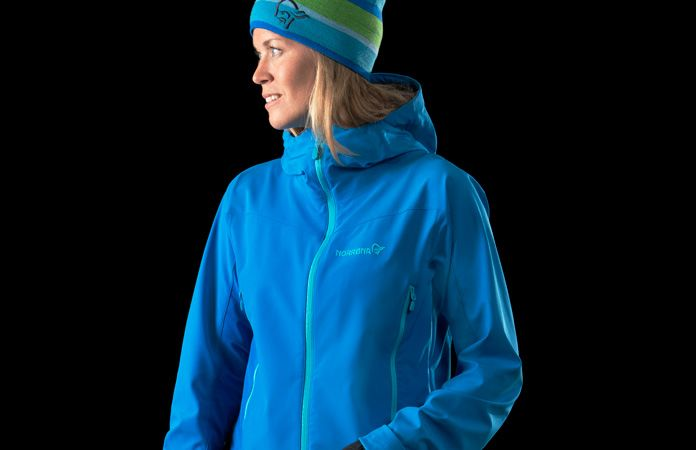 Womens Norrøna outdoor jacket - Norrona falketind windstopper hybrid