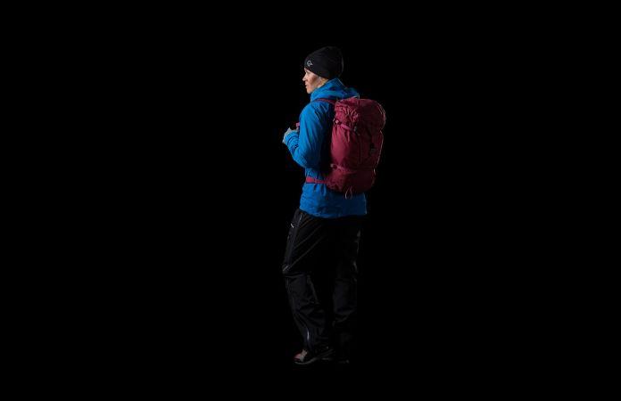 Norrona falketind pack 30L for hiking and trekking
