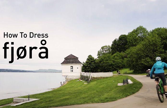 Norrøna - How to dress with Fjørå