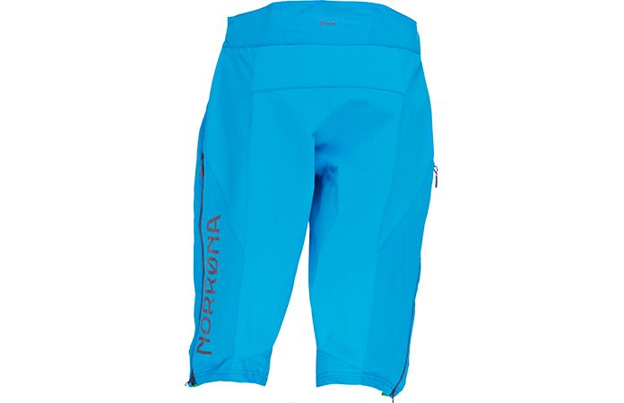 norrøna mens biking shorts in soft shell