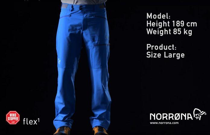 Norrøna falketind hybrid windstopper pants