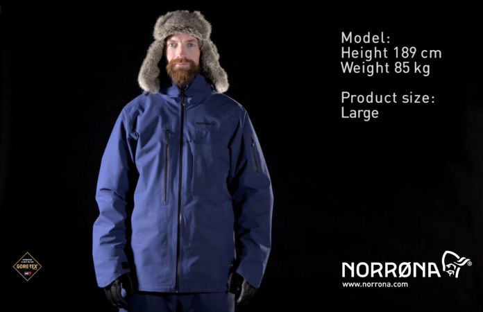 Norrøna røldal gore-tex jacket