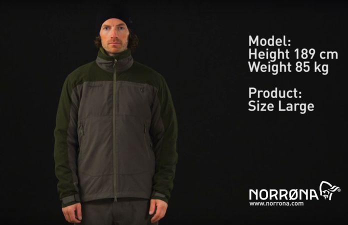 Norrøna finnskogen hybrid jakke til jakt