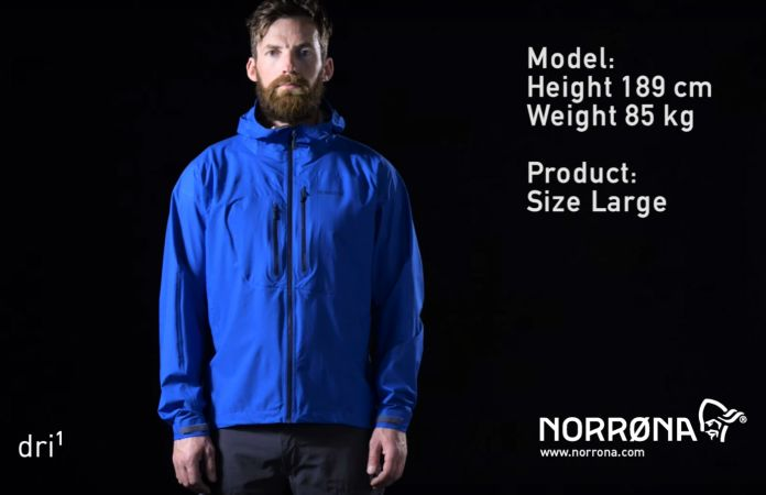 Norrona bitihorn dri1 jacket for men