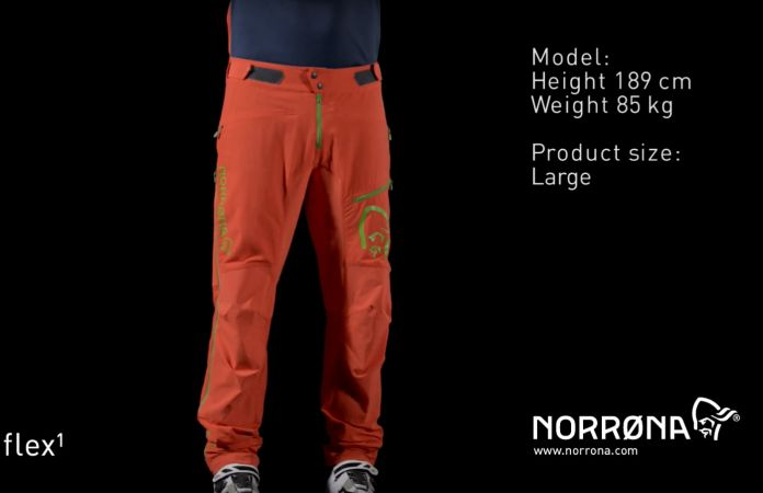 norrøna mens fjørå flex1 pants with custom fit system