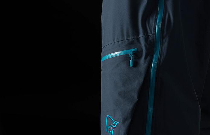 Norrøna bitihorn dri3 rain pants men - cargo pocket