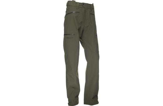 Norrøna dovre bukse til jakt med vanntett dri3 materiale