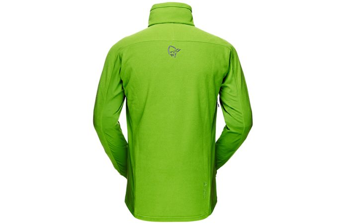 Norrona fleece jacket for men with polartec stretch