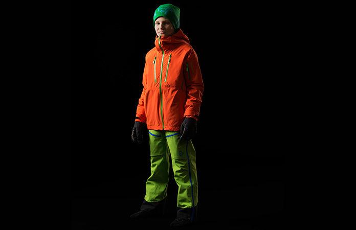 Norrona junior narvik dri1 insulated long gloves