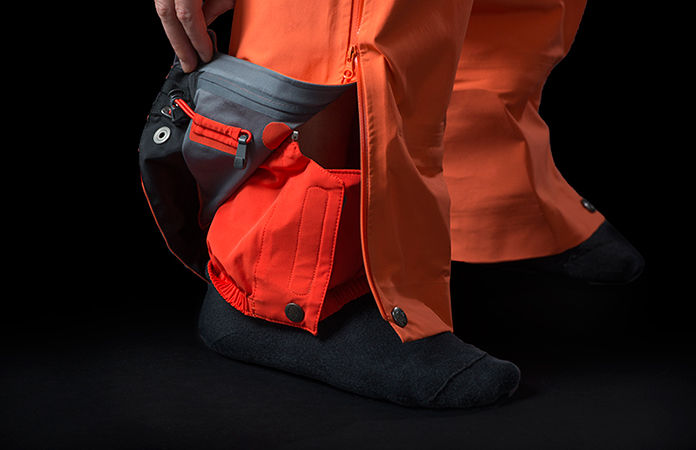 Norrøna lyngen driflex3 pants with gaitors