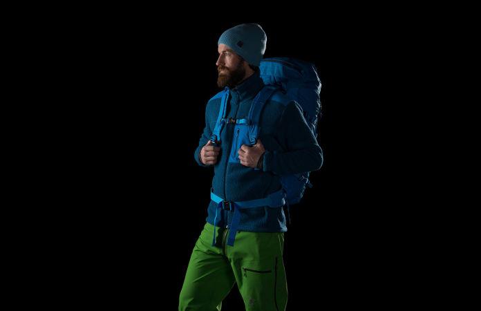 Norrøna lyngen topptursekk 35l til ski og snowboard