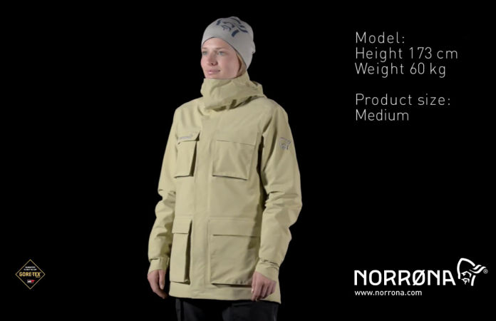Norrona svalbard Gore-Tex jacket for women