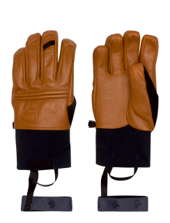 røldal dri PrimaLoft Short leather Gloves