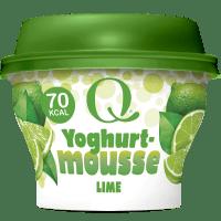 Q® Yoghurtmousse Lime 130 g