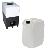 Returcontainer och Dunk 10 L