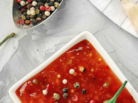 Ketchup och chilisås samlingsbild