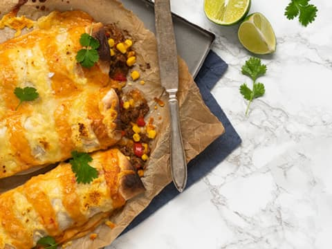 Enkla enchiladas