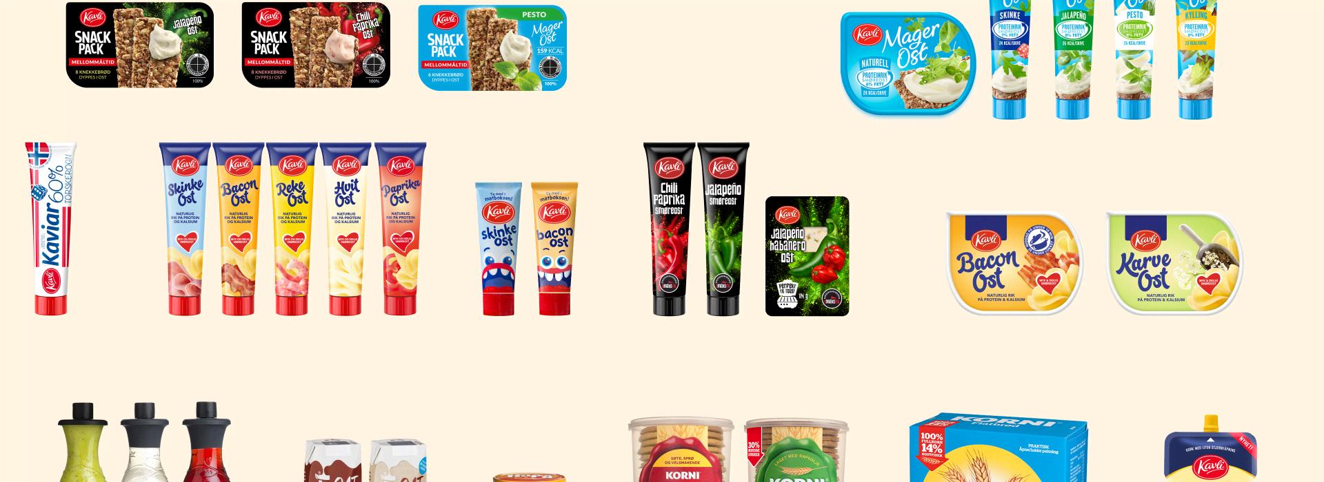 Kavli produkt- og merkevarekolleksjon 2019