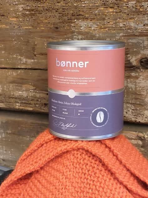 """I 2019 får du kjøpt kaffe, eller """"bønner med mening"""", hos Kirkens Bymisjon i Bergen. Foto: Kirkens Bymisjon"""