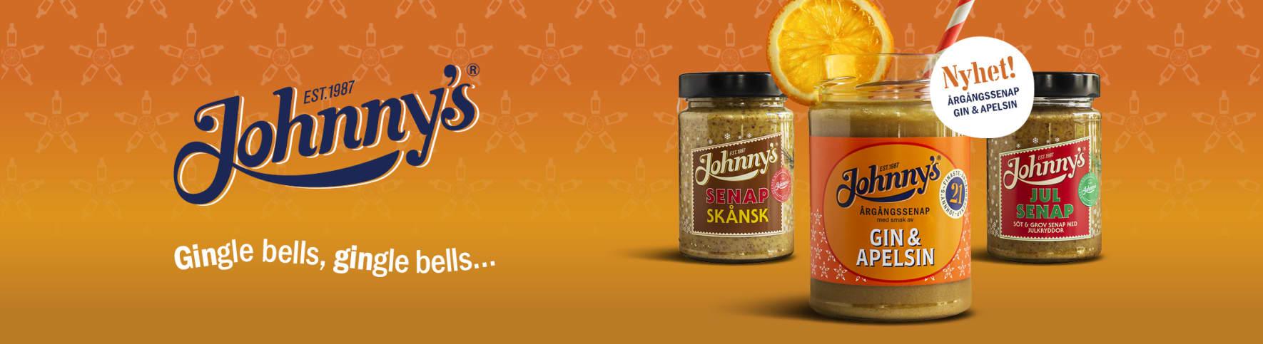 Johnnys Årgångssenap Gin Apelsin