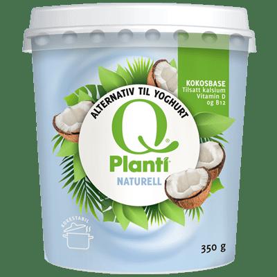 Q® Planti® Naturell på stort beger er perfekt til matlaging.