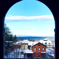 360 degree views of Burlington from our 12 window cupola makes the perfect spot to enjoy your morning coffee or evening cocktail