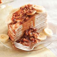 Banana Crepe Cake