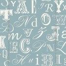 Papel de parede Decoração Infantil Letras Origini 27-35