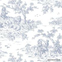 Papel de parede Decoração Toile de Jouy Origini 26-90