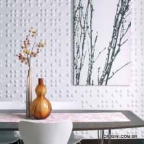 Painel de parede 3D Braille Origini ambiente