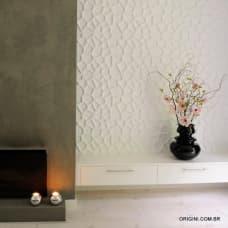 Painel de parede 3D Clean Origini ambiente 2