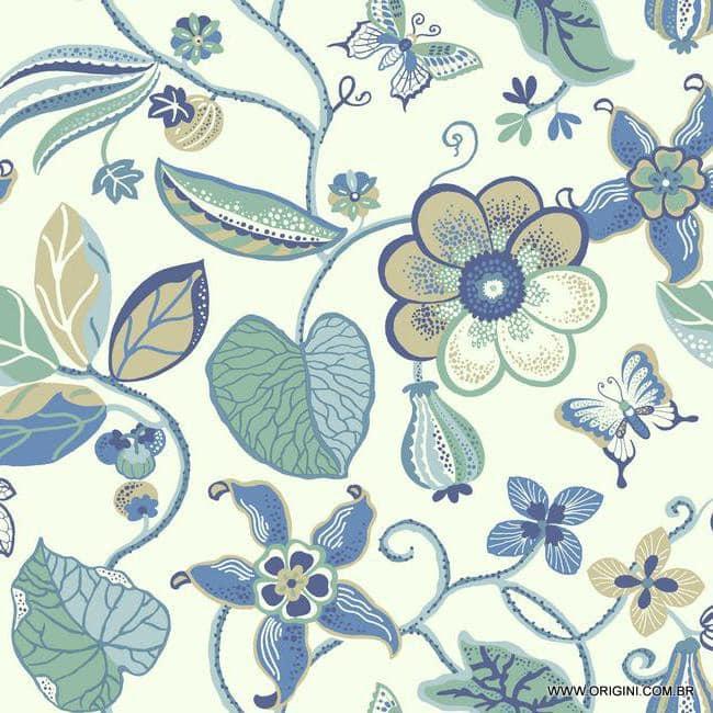 Papel de parede Decoração Floral Origini 200-22