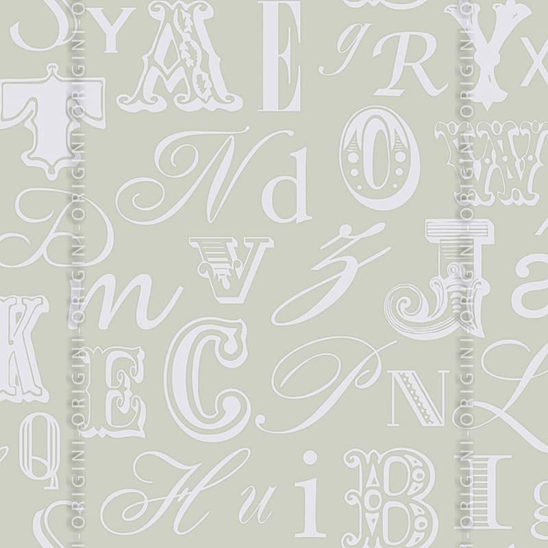 Papel de parede decora o infantil letras origini 27 37 - Papel de pared infantil ...