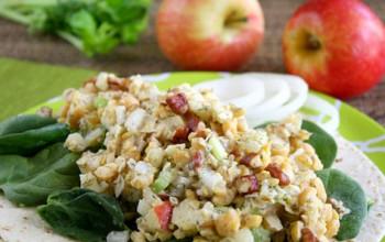 Apple Chickpea Salad