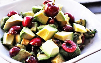 Cherry and Avocado Salad